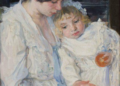 Llüisa Vidal. Marcelet, enfermo. 1905. Colección particular. [Fuente: loff.it].