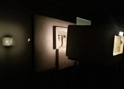 Detalle del montaje de la Exposición 1