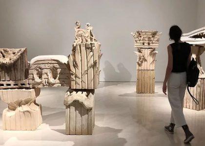 Una de las salas de la exposición de Barceló en el Museo Picasso de Málaga